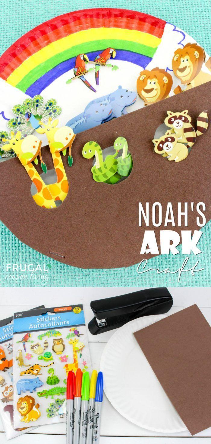 noah s ark preschool craft