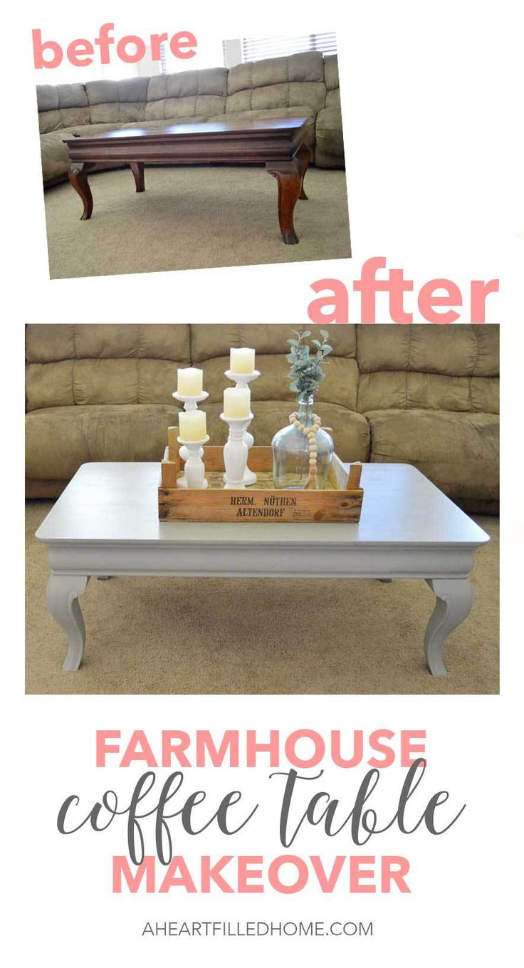 Beautiful Coffee Table Diy Furniture This Beautiful Coffee Table Got A Farmhouse