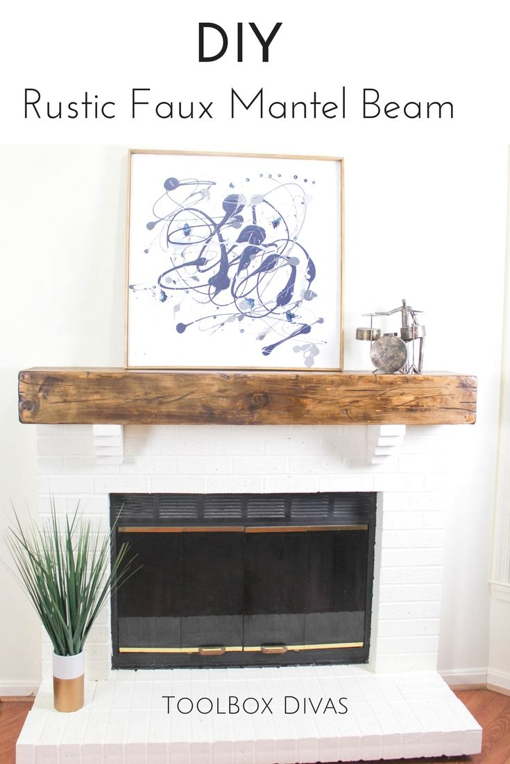 Floating Fireplace Mantel Ideas Diy Furniture Diy Faux Wood Beam Fireplace Mantel Floating