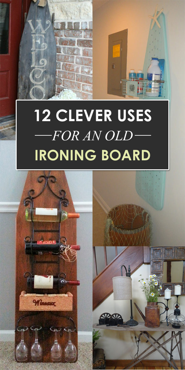 Long Coffee Table 12 Clever Uses For An Old Ironing Board