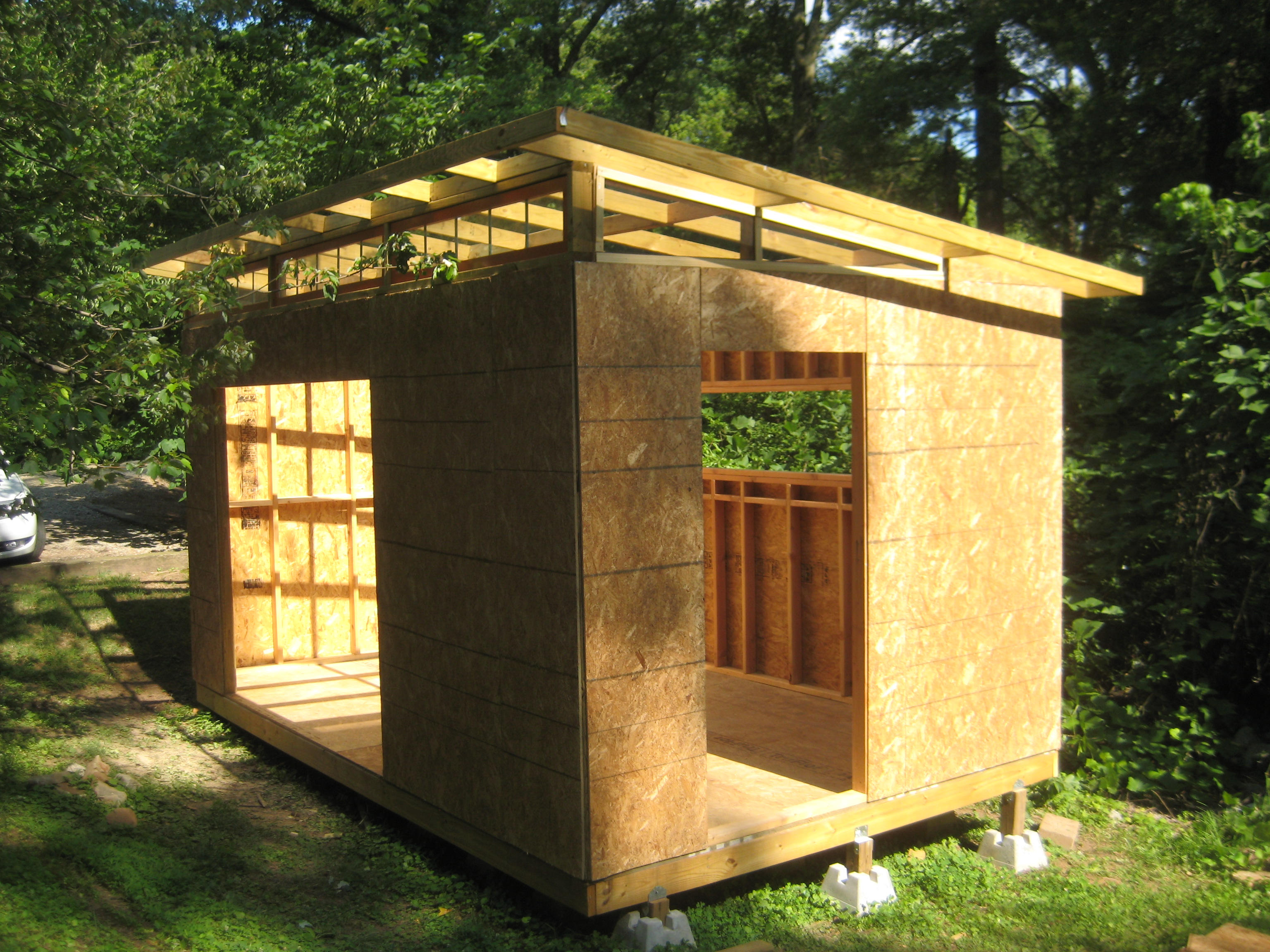 Design Schuur Diy Modern Shed Project Diyatlantamodern