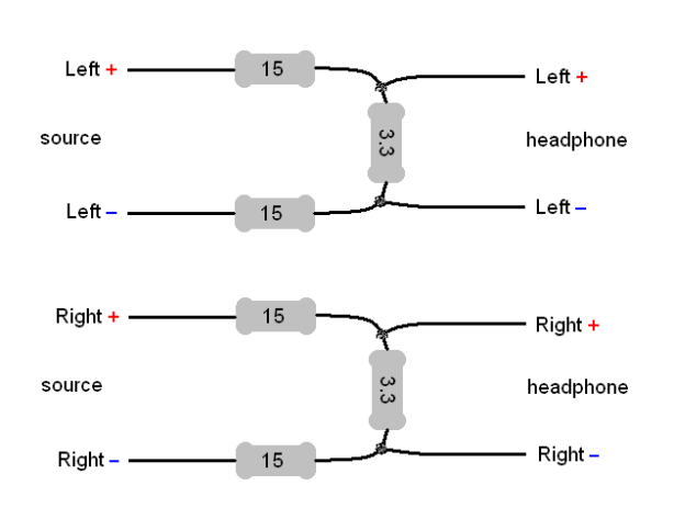 headphone wiring schematic