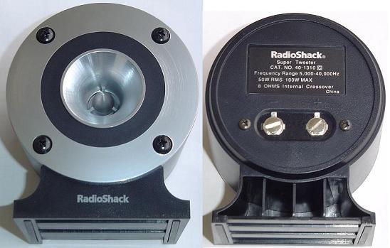 Radio Shack / Realistic 40-1310 Horn Super Tweeter