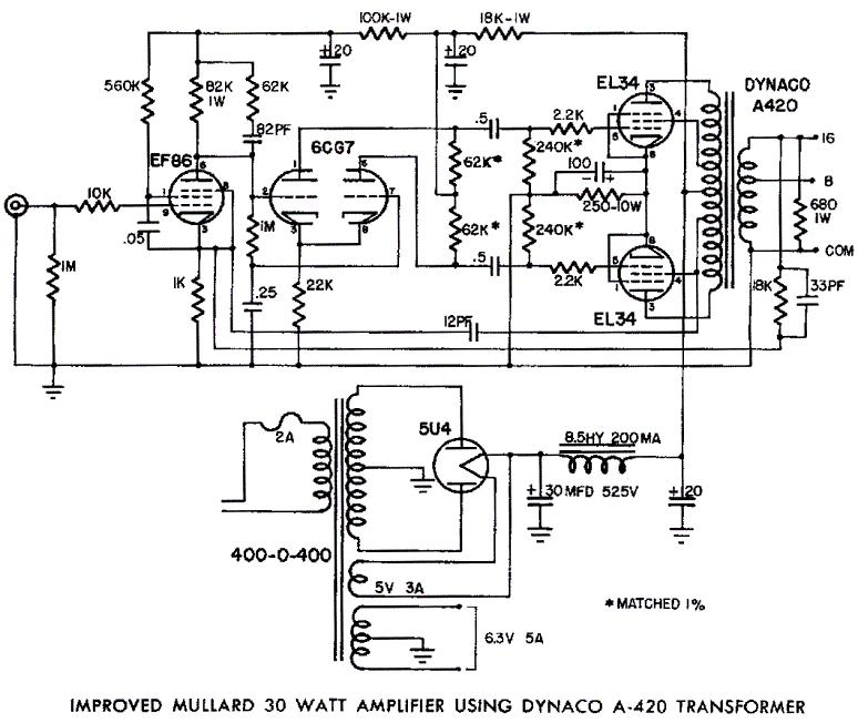 preamp pushpull circuit