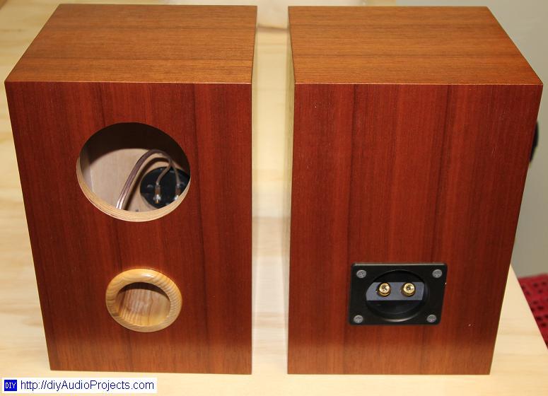 Fostex Fe103en Diy Bass Reflex Bookshelf Speakers
