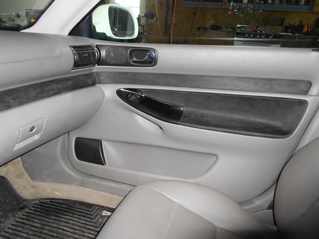 Audi A4 B5 Interieur Audi A4 B5 Interior Door Panel Suede Inserts By Mrsnickelsnizer