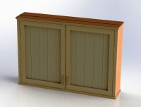 Outdoor TV Cabinet with Double Doors Building Plan - DIY ...