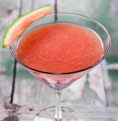 Medium Of Watermelon Vodka Drink