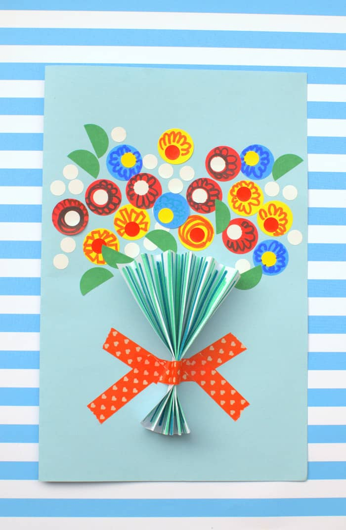 Floral Handmade Mother\u0027s Day Card - DIY Candy - mother s day cards