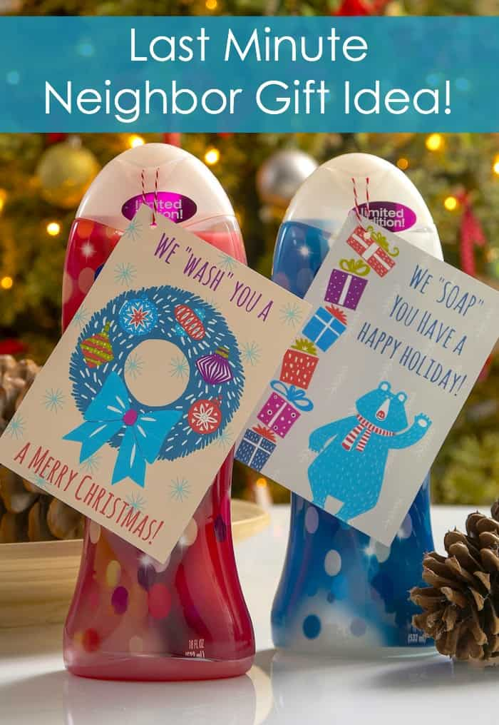 Last Minute Neighbor Gift Idea (with Free Printable!) - DIY Candy