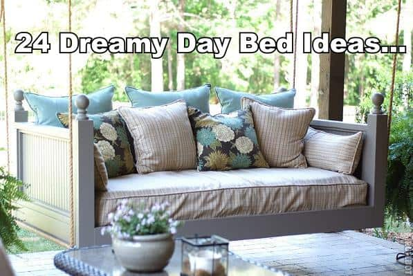 24 Dreamy Day Bed Ideas