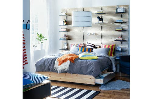 Floating Round Beds 10 Super Clever Bedroom Storage Ideas