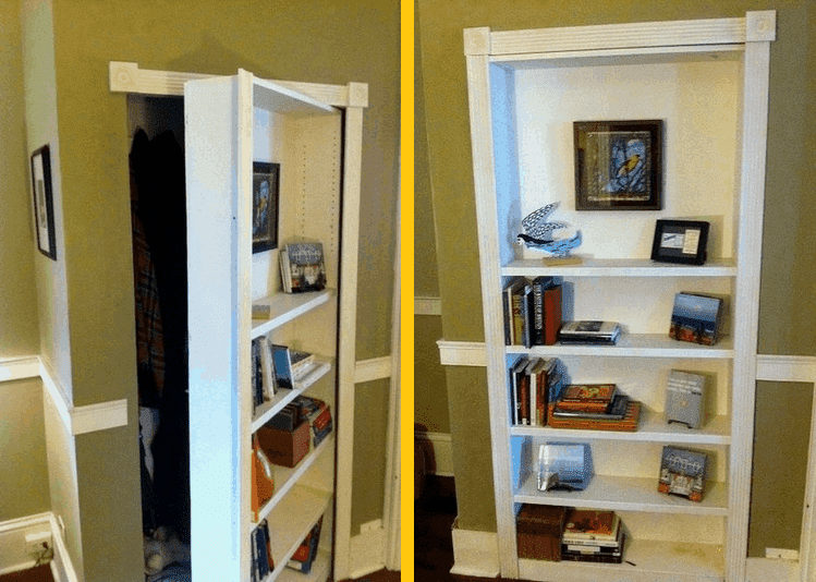 How To Build Your Own Hidden Door Bookcase Diy Cozy Home