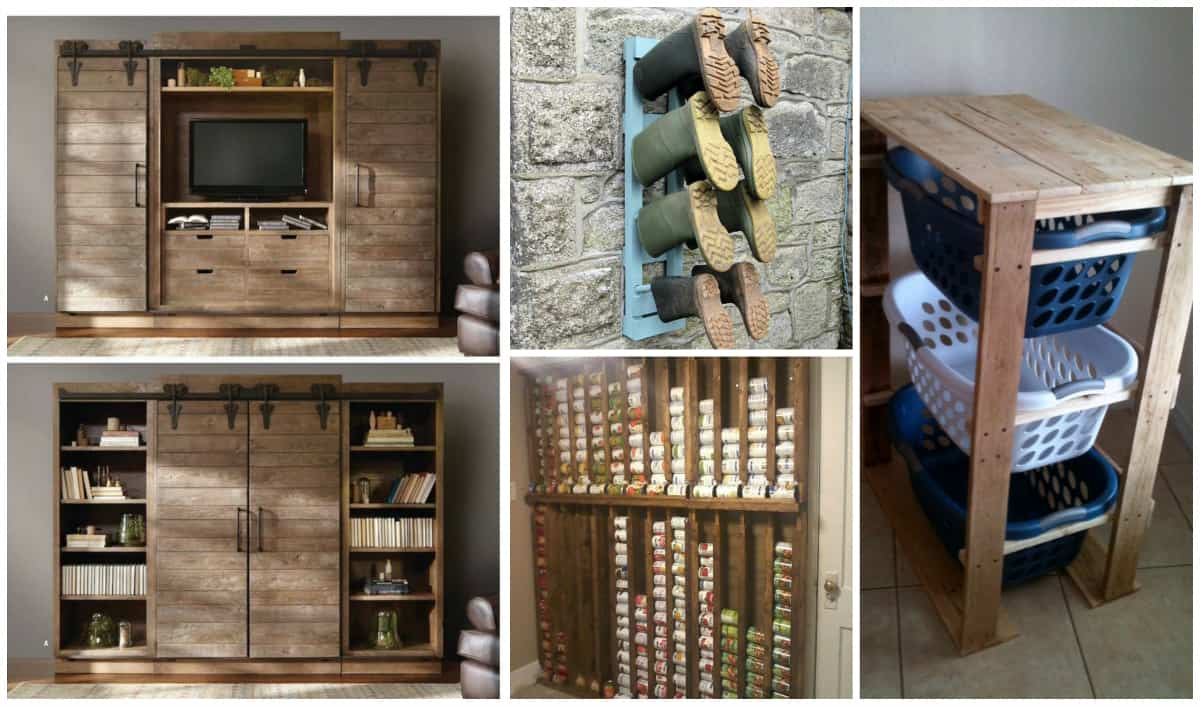 Creative Diy Pallet Storage Ideas