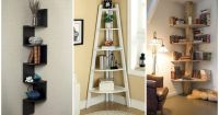 17 Clever Corner Shelving Ideas