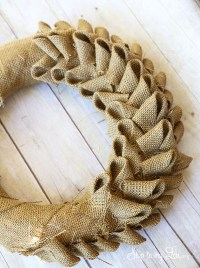 DIY Burlap Crafts #58 Wreaths, Flowers, Table Runners ...