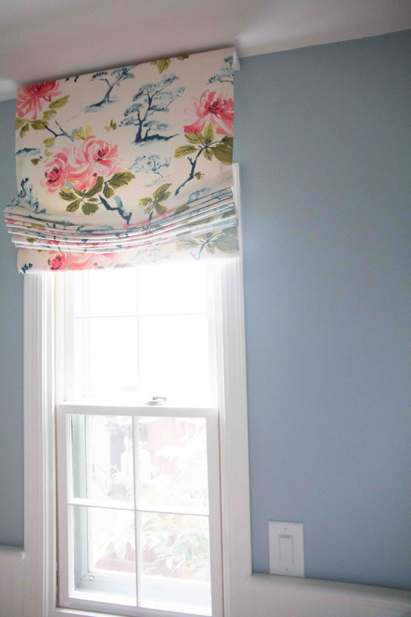 Diy Roman Shades Easy Diy Roman Shade Make Your Own Roman Shade Tutorial