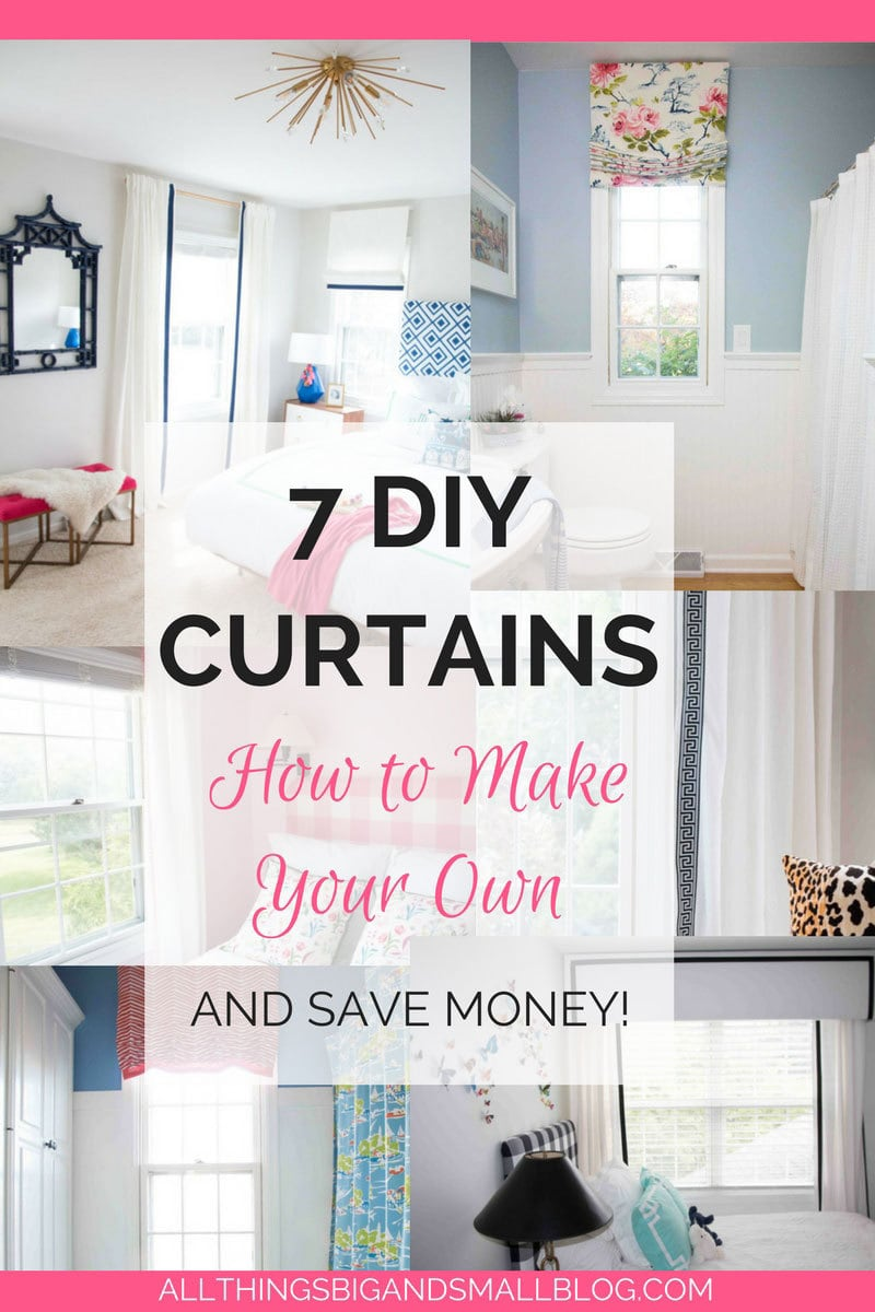 Curtain Ideas Diy Curtains How To Make Your Own 7 Different Ways