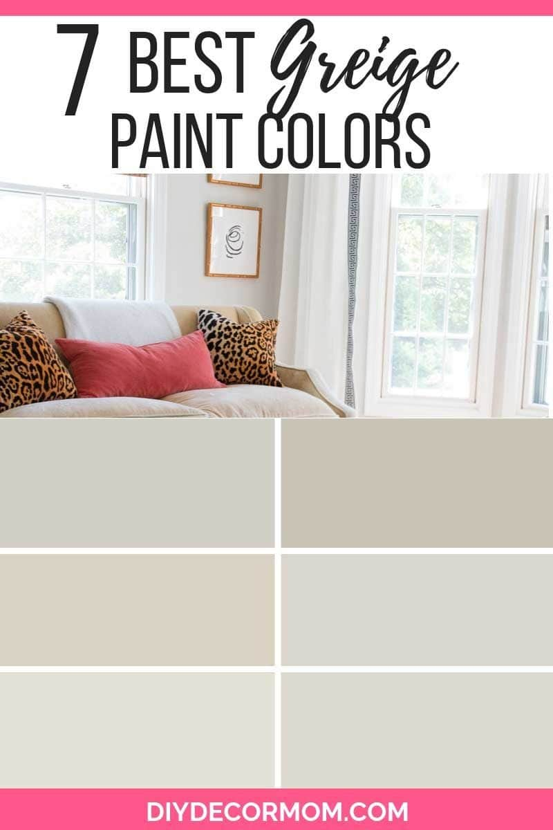 Benjamin Moore Bedroom Colors Greige Paint 7 Best Greige Paint Colors You Need In Your Home
