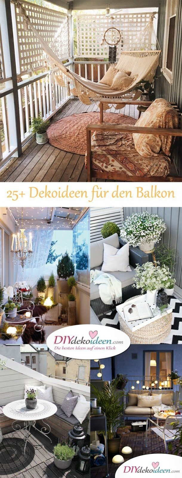 So Lässt Sich Dein Balkon Dekorieren Tolle Diy Dekoideen Für Dein Zuhause Decor Object Your Daily Dose Of Best Home Decorating Ideas Interior Design Inspiration
