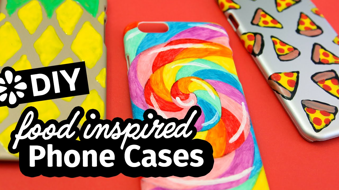 How To Make Food Inspired Phone Cases