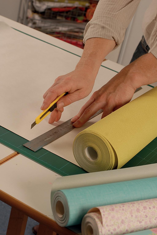 Tapisser Un Meuble Avec Du Papier Peint Patchwork De Papier Peint