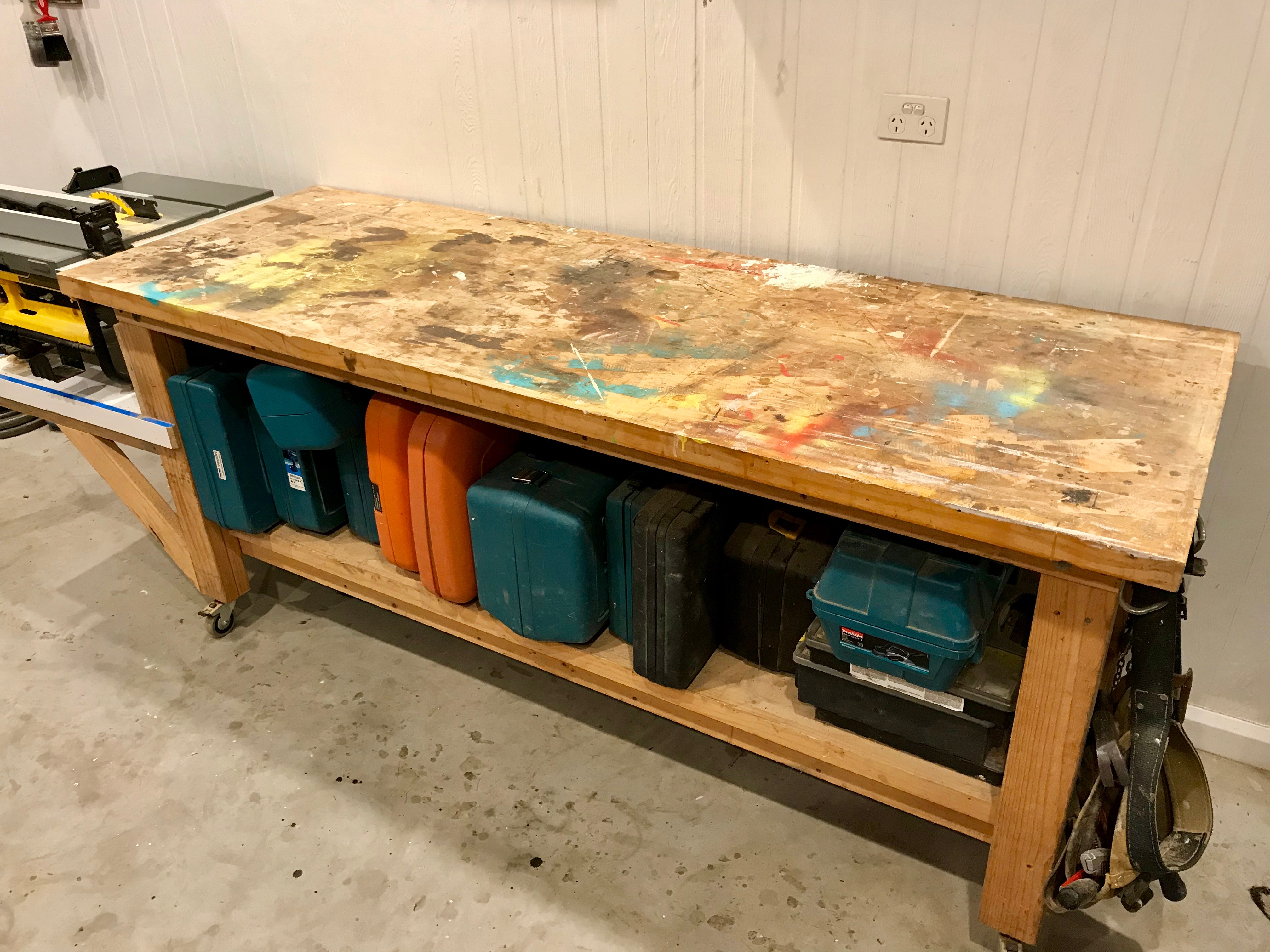 Build A Sturdy Workbench Diy For Knuckleheads