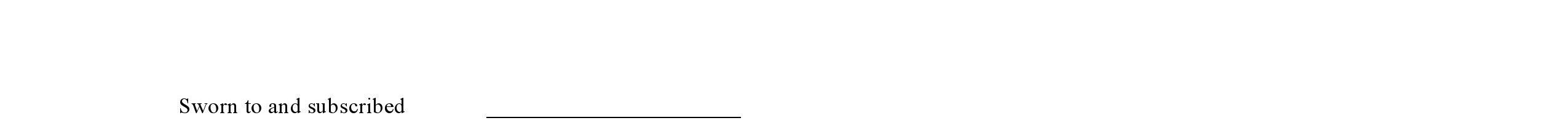 Free Affidavit Form PDF Word Do it Yourself Forms - blank affidavit