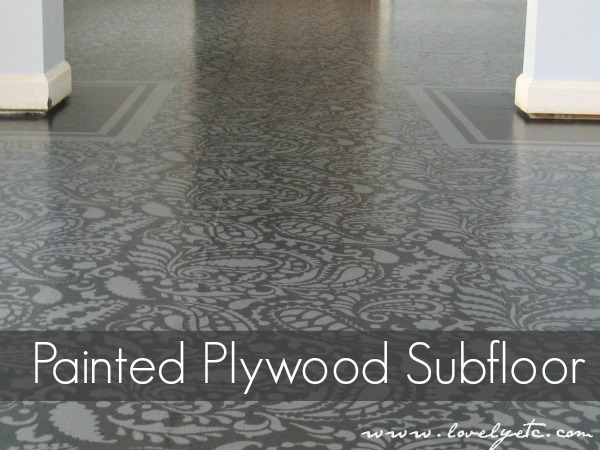 How To Paint Stencil Your Floors Do It Yourself Fun Ideas
