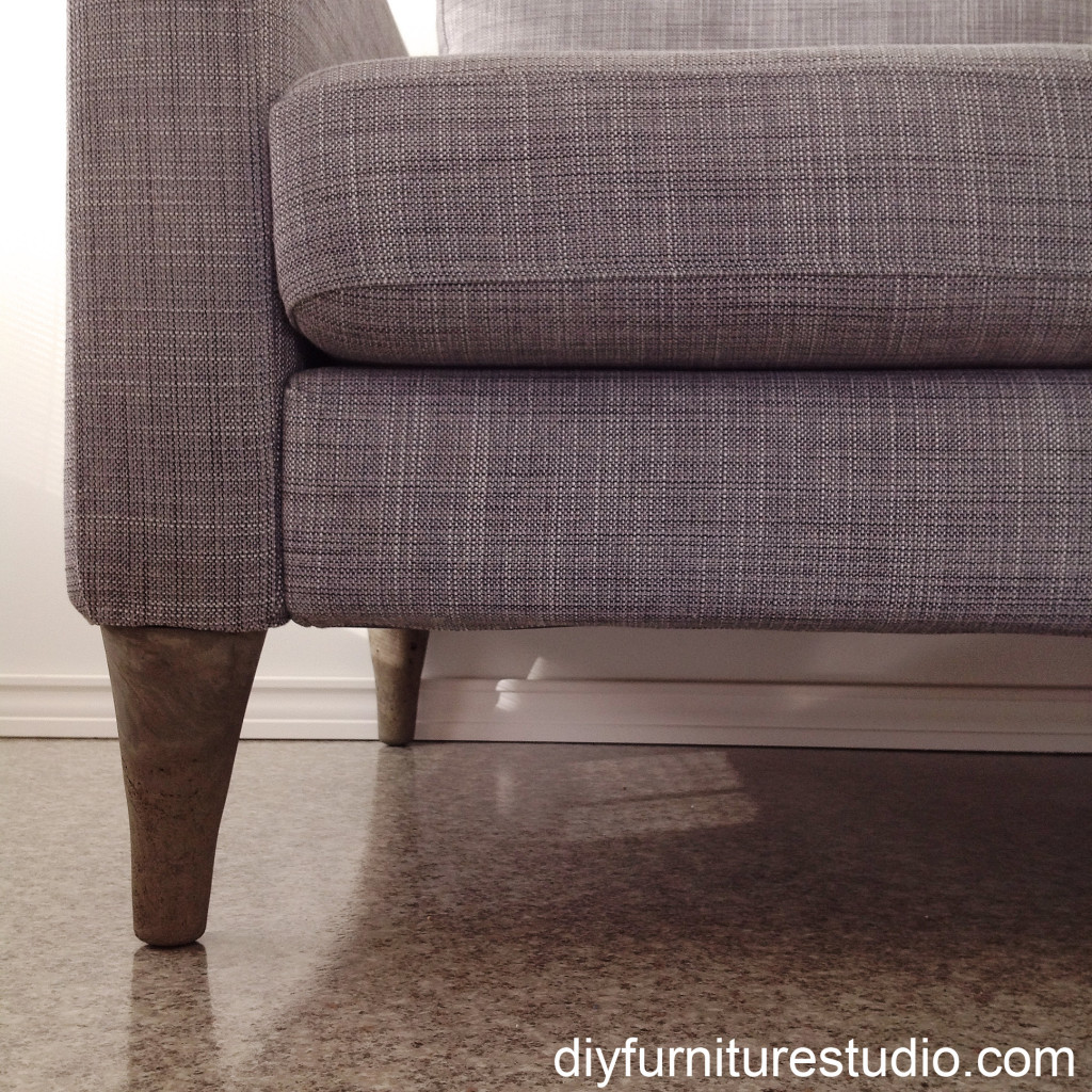 Ikea Sofa Round Rock Diy Cement Replacement Sofa Legs For Ikea And Other Brands Diy
