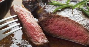 medium roast steak
