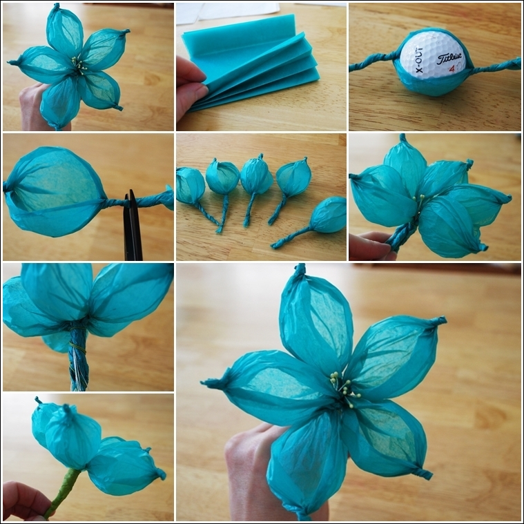 Diy Paper Flower Tutorial Step By Step Instructions