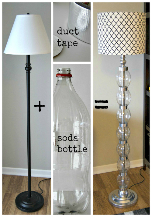 Lamparas Colgantes Recicladas Inexpensive Diy Floor Lamp Ideas To Make At Home