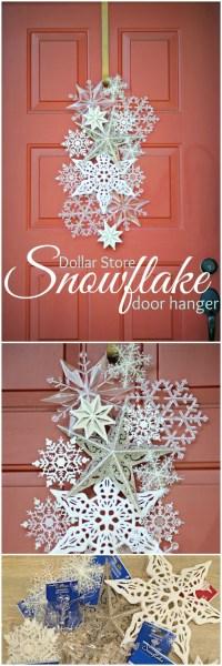 16 Budget Friendly DIY Christmas Door Decorations  DIY ...