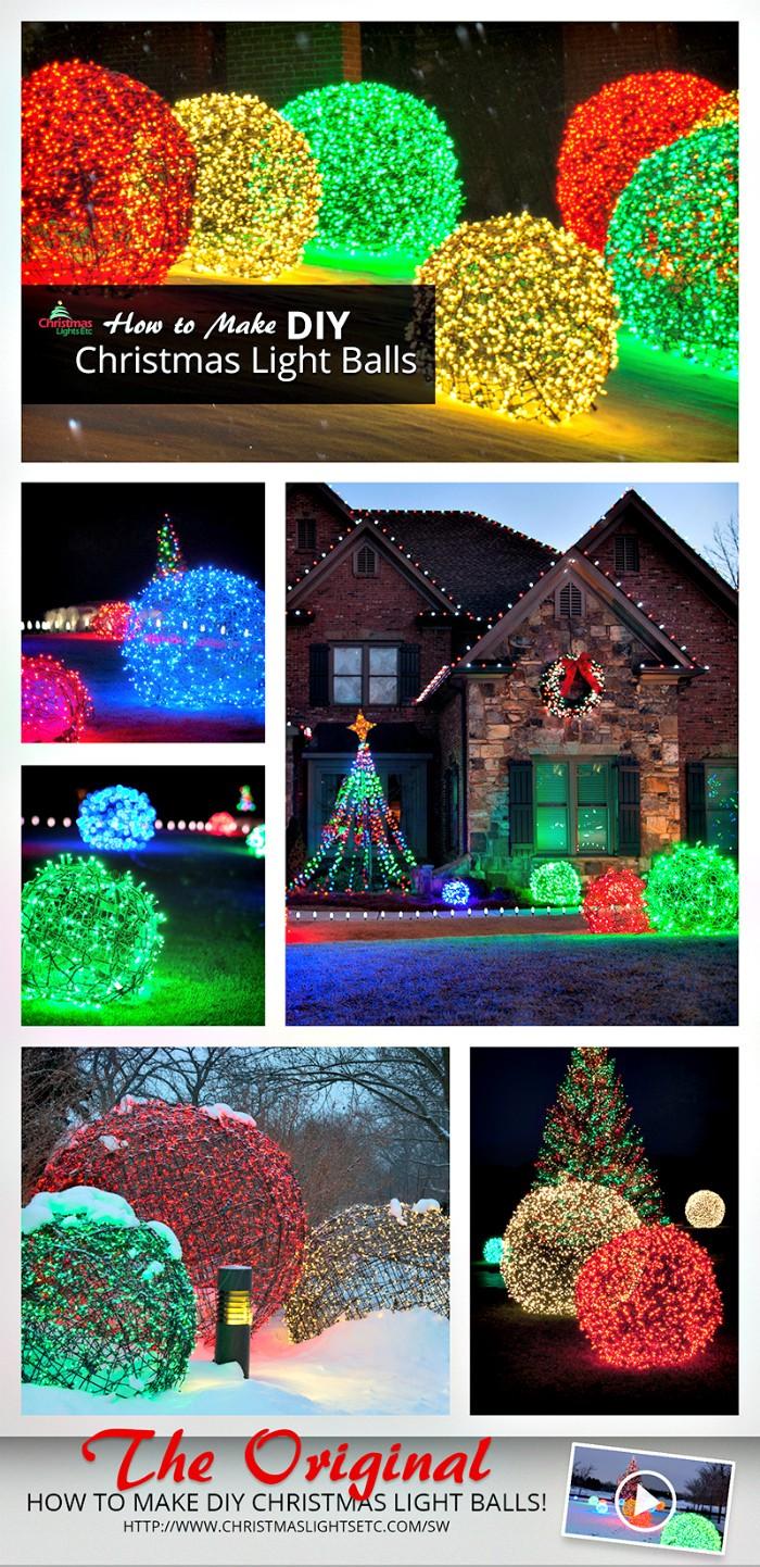 21 Cheap DIY Outdoor Christmas Decorations  DIY Home Decor
