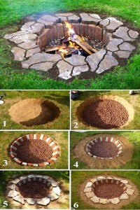 Easy and Functional DIY Fire pit Ideas to Make Your ...