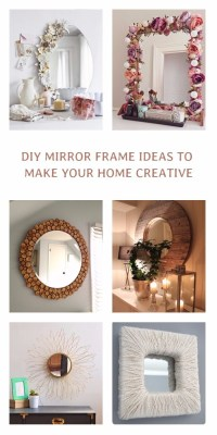 15 Incredible DIY Mirror Frame Ideas To Make Your Home ...