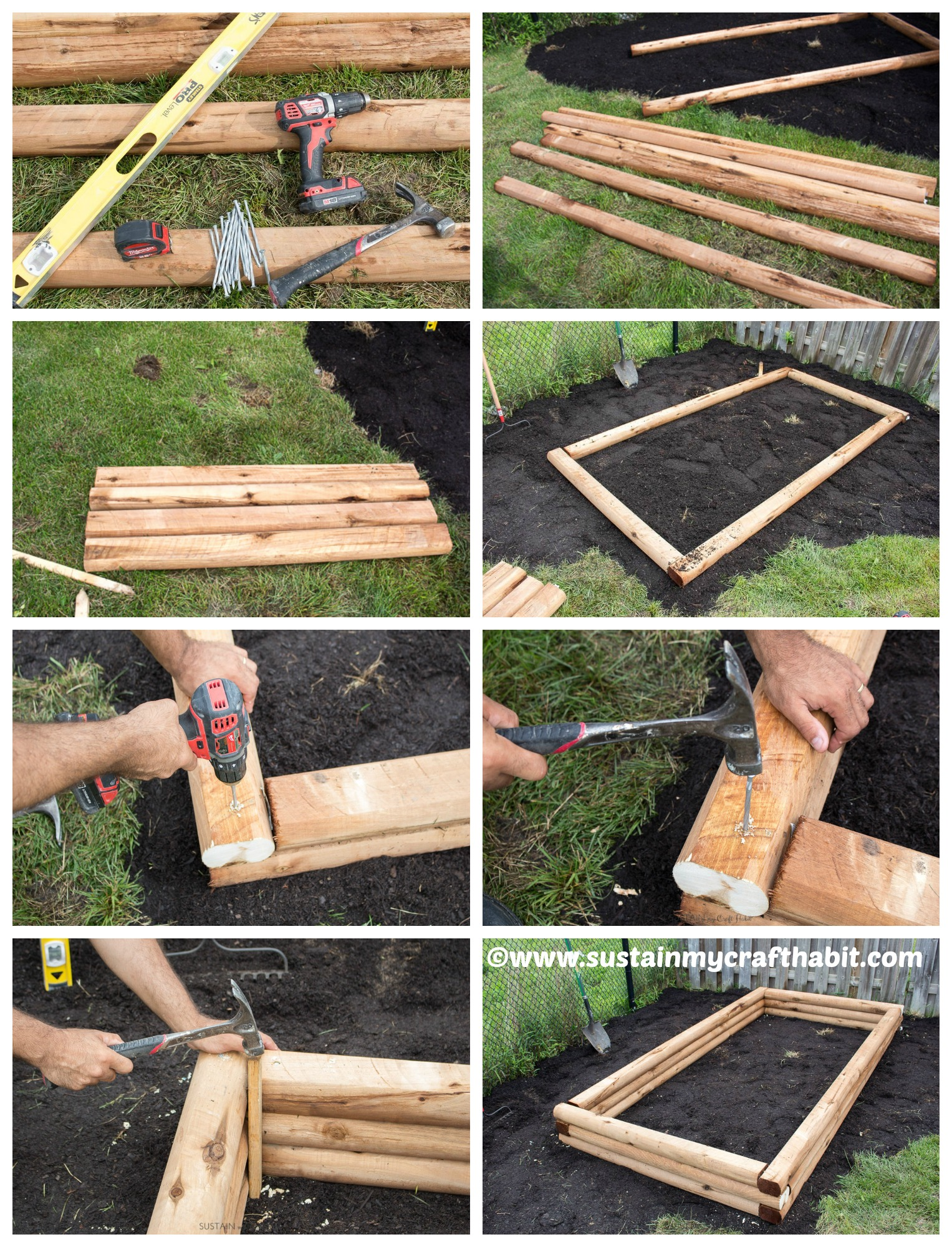 Instructions For Making Raised Garden Beds Diy Raised Garden Bed Tutorial Diy Home Tutorials