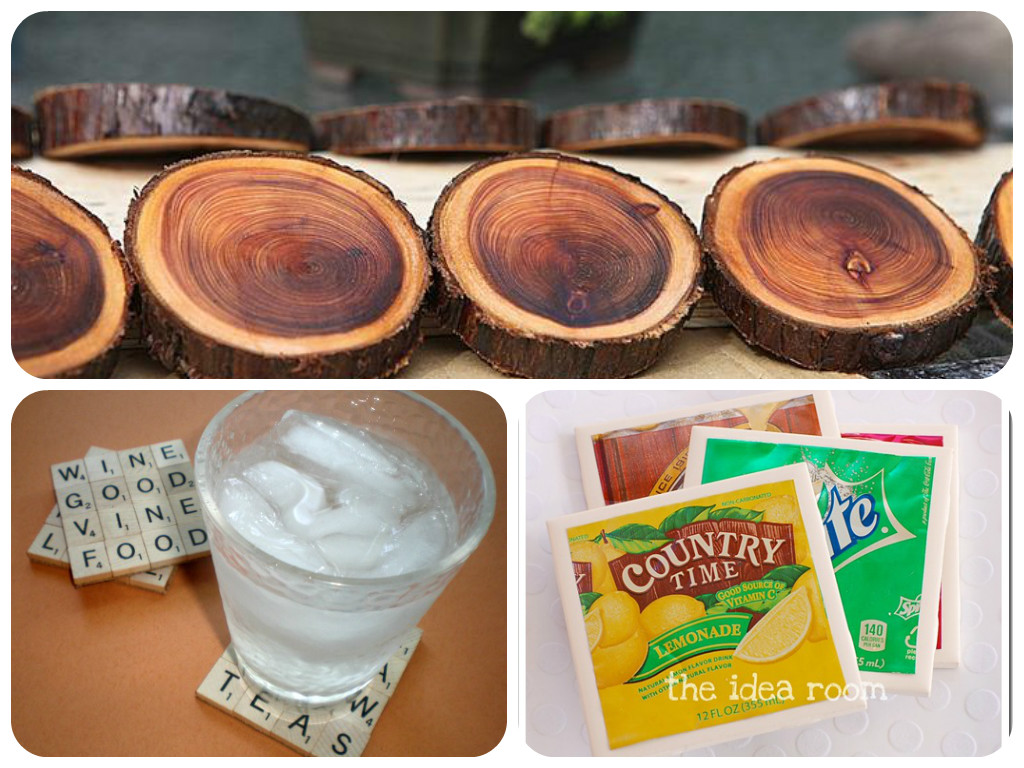 Diy Table Coasters 16 Gorgeous Diy Coasters