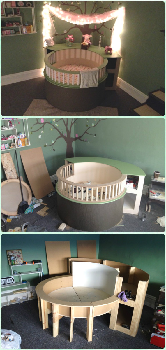 Diy Baby Diy Baby Crib Projects Free Plans & Instructions