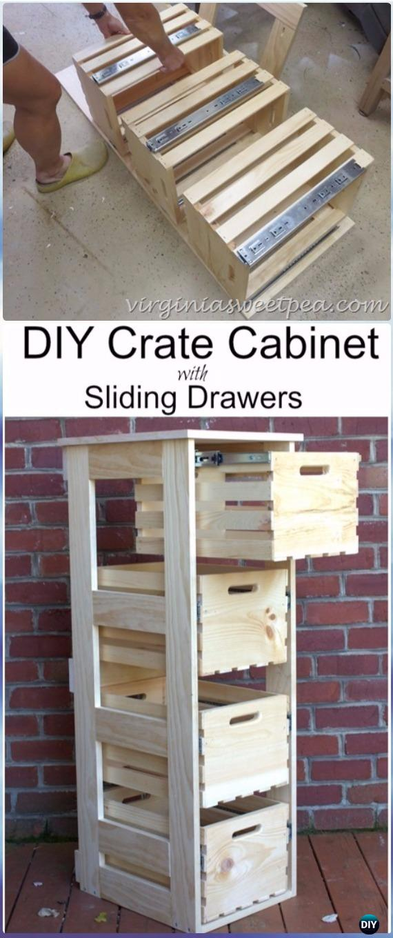 Wall Unit Desk Diy Wood Crate Furniture Ideas Projects Instructions