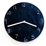 chalkboard clock 10
