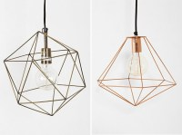 DIY Inspiration: Geometric Lights - DIY in PDX