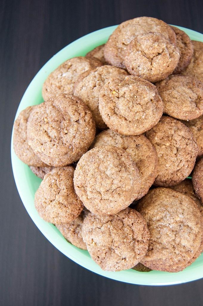 gingersnap cookies-2