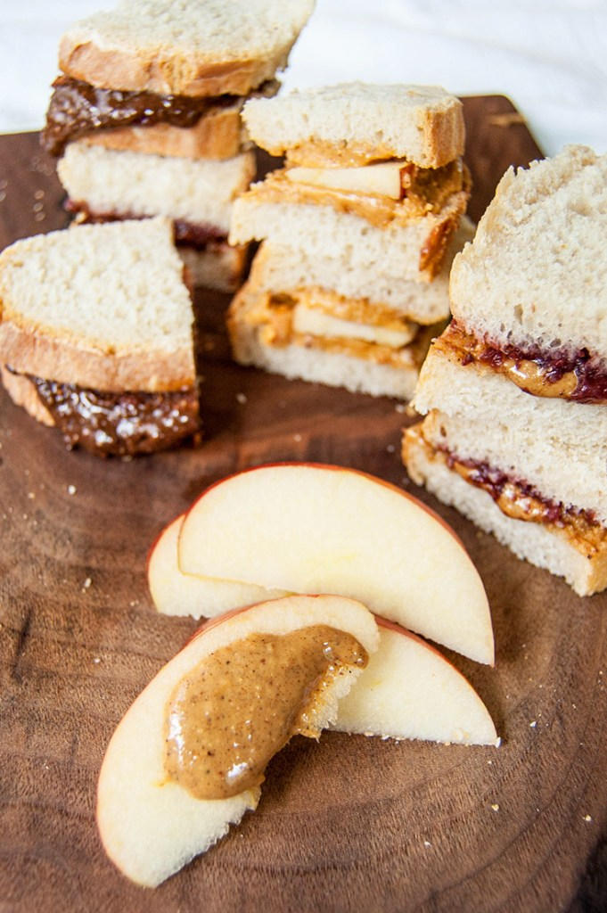 Make 3 kinds of flavored peanut butter: Honey Chipotle Pretzel Peanut Butter, Garam Masala Peanut Butter, or Chocolate Espresso Peanut Butter