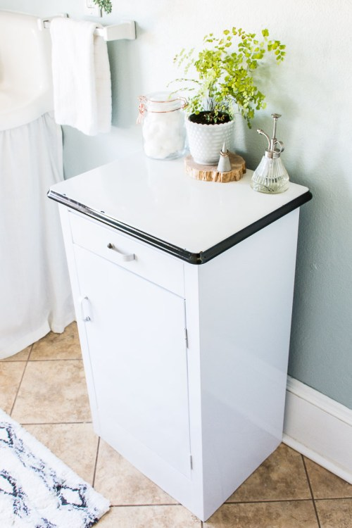 My bathroom makeover: Bathroom medical cabinet