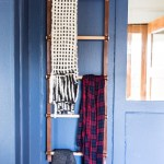 Make a Wood and Leather Storage Ladder