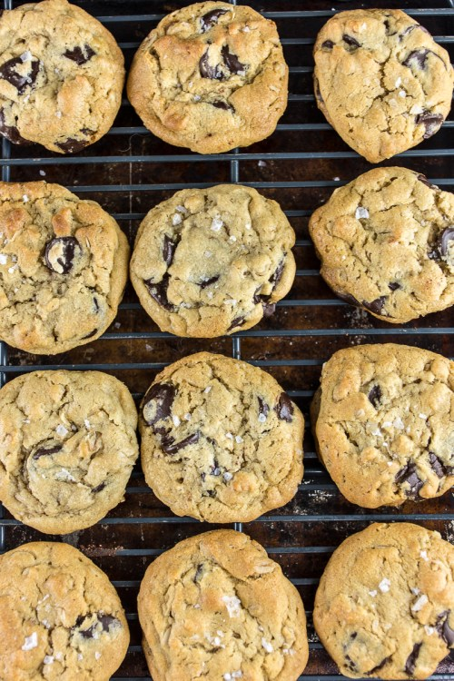 If you're a fan of peanut butter and chocolate, you owe it to yourself to try this recipe for salted peanut butter chocolate chip cookies