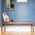 Need more entryway storage? Hack your bench to add some!