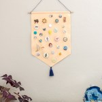 DIY Pin Storage Banner
